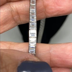 Jewelry - Sparkly sterling and CZ necklace